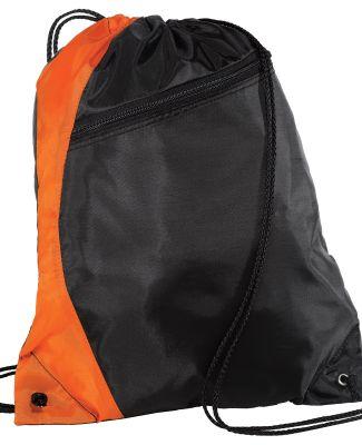Port Authority BG80    -  Colorblock Cinch Pack Orange/Black