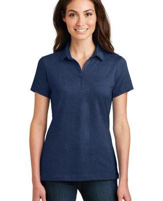 Port Authority L577    Ladies Meridian Cotton Blen Estate Blue