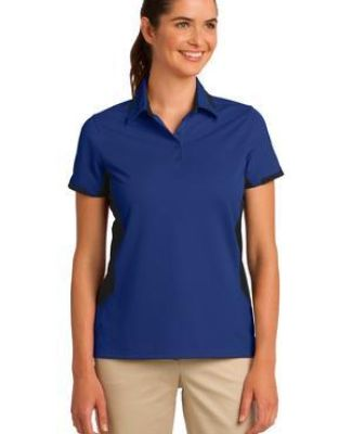 Port Authority L524    Ladies Dry Zone   Colorblock Ottoman Polo Catalog
