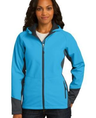 Port Authority L319    Ladies Vertical Hooded Soft Shell Jacket Catalog