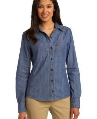 Port Authority L652    Ladies Patch Pockets Denim Shirt Catalog