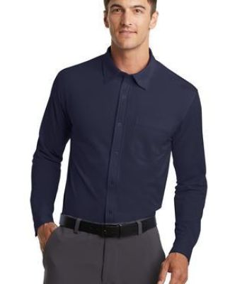 Port Authority K570    Dimension Knit Dress Shirt Catalog