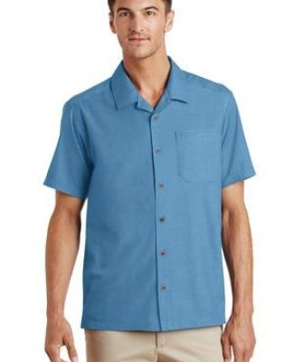Port Authority S662    Textured Camp Shirt Catalog