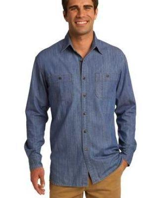 Port Authority S652    Patch Pockets Denim Shirt Catalog
