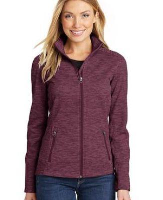 Port Authority L231    Ladies Digi Stripe Fleece Jacket Catalog
