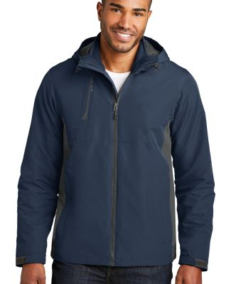 Port Authority J338    Merge 3-in-1 Jacket Dr Bl Ny/Gy St