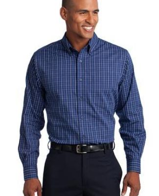 Port Authority TLS642    Tall Tattersall Easy Care Shirt Catalog