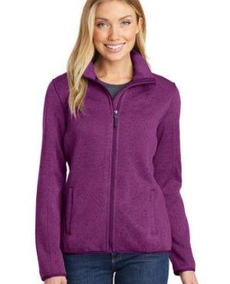 Port Authority L232    Ladies Sweater Fleece Jacket Catalog