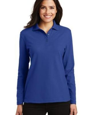 Port Authority L500LS    Ladies Long Sleeve Silk Touch Polo Catalog