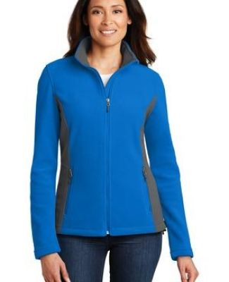 Port Authority L216    Ladies Colorblock Value Fleece Jacket Catalog