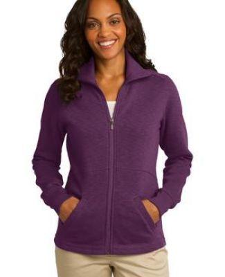 Port Authority L293    Ladies Slub Fleece Full-Zip Jacket Catalog