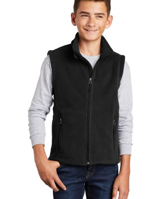 Port Authority Y219    Youth Value Fleece Vest Black