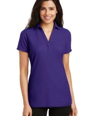 Port Authority L5001    Ladies Silk Touch   Y-Neck Polo Catalog