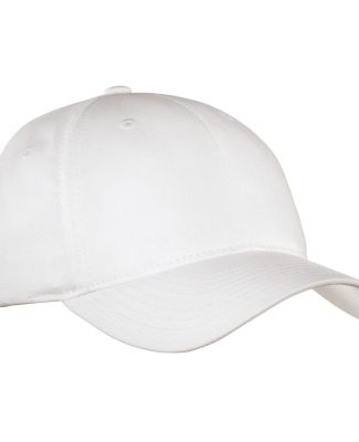 Port Authority C800    Fine Twill Cap White