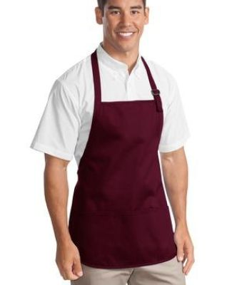 Port Authority A510    Medium-Length Apron with Pouch Pockets Catalog