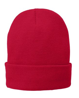 Port Authority CP90L Port & Company   Fleece-Lined Athl Red
