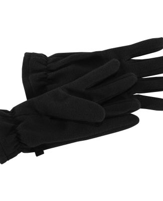 Port Authority GL01    Fleece Gloves Black