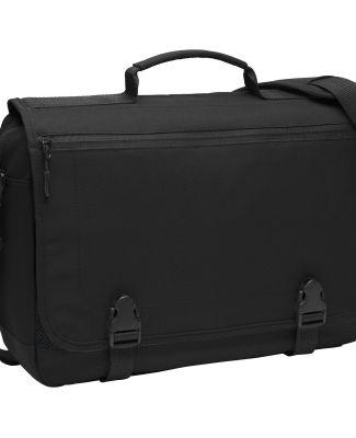 Port Authority BG304    Messenger Briefcase Black