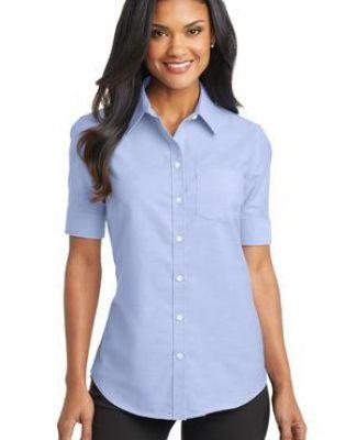 Port Authority L659    Ladies Short Sleeve SuperPro   Oxford Shirt Catalog