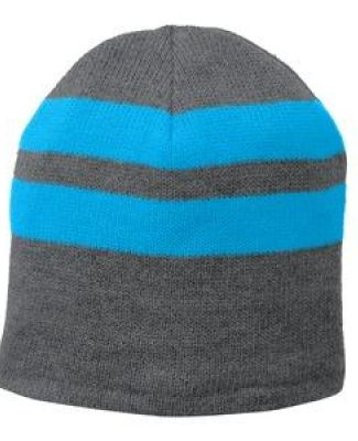 Port Authority C922 Port & Company   Fleece-Lined Striped Beanie Cap Catalog