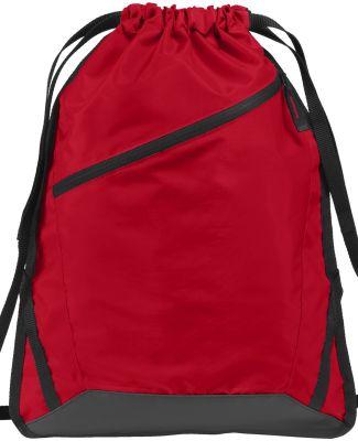 Port Authority BG616    Zip-It Cinch Pack True Red/Blk