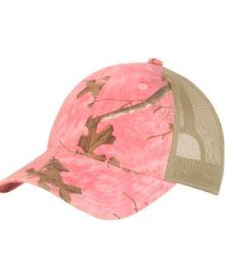 Port Authority C929    Unstructured Camouflage Mesh Back Cap Catalog