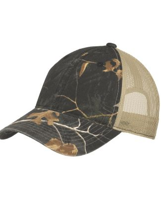 Port Authority C929    Unstructured Camouflage Mes RT Extra Bk/Tn