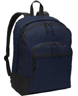 Port Authority BG204    Basic Backpack Navy