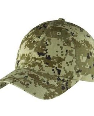 Port Authority C925    Digital Ripstop Camouflage Cap Catalog