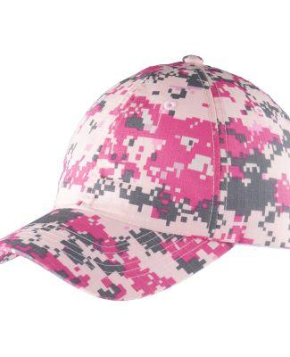 Port Authority C925    Digital Ripstop Camouflage  Pink Camo