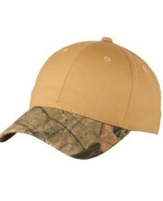 Port Authority C931    Twill Cap with Camouflage Brim Catalog