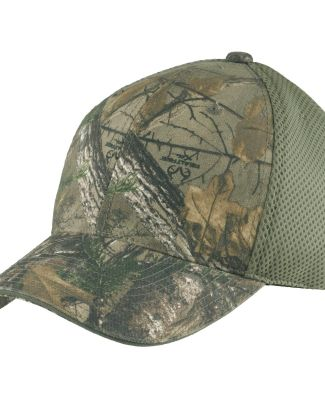 Port Authority C912    Camouflage Cap with Air Mes RT Extra/Green