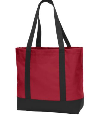 Port Authority BG406    Day Tote Chili Red/Blk