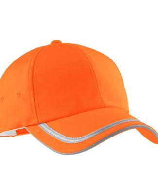 Port Authority C836    Enhanced Visibility Cap Safety Orange