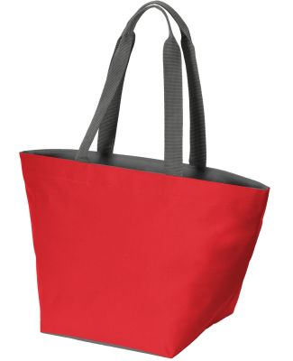 Port Authority BG409    Carry All Zip Tote True Red/Magnt