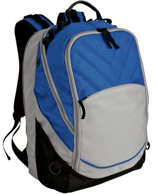 Port Authority BG100    Xcape Computer Backpack Royal/Black
