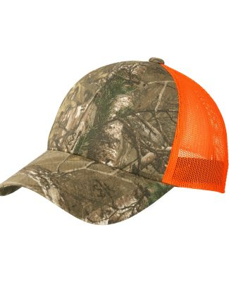 Port Authority C930    Structured Camouflage Mesh  RT Extra/Ne Or