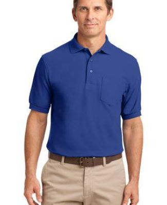 Port Authority TLK500P    Tall Silk Touch Polo with Pocket Catalog