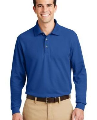 Port Authority TLK800LS    Tall Long Sleeve EZCotton Pique Polo Catalog