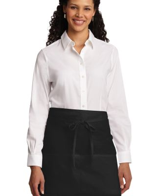 Port Authority A706    Easy Care Half Bistro Apron Black