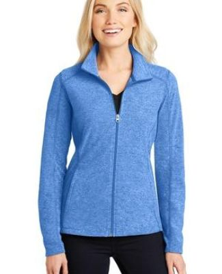 Port Authority L235    Ladies Heather Microfleece Full-Zip Jacket Catalog