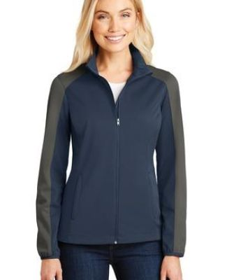 Port Authority L718    Ladies Active Colorblock Soft Shell Jacket Catalog