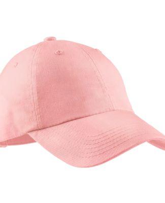 Port Authority LPWU    Ladies Garment Washed Cap Light Pink
