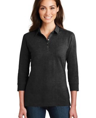Port Authority L578    Ladies 3/4-Sleeve Meridian  Black