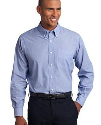 Port Authority TLS640    Tall Crosshatch Easy Care Shirt Catalog