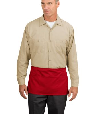 Port Authority A515    Waist Apron with Pockets Red