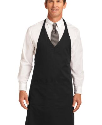 Port Authority A704    Easy Care Tuxedo Apron with Black