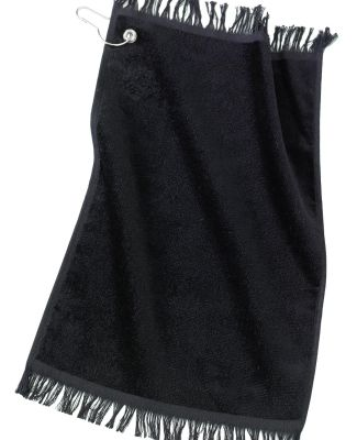 Port Authority PT40    - Grommeted Fingertip Towel Black