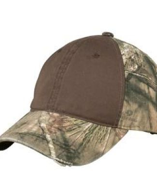 Port Authority C807    Camo Cap with Contrast Front Panel Catalog