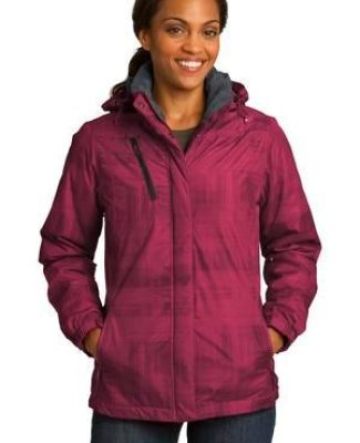 Port Authority L320    Ladies Brushstroke Print Insulated Jacket Catalog